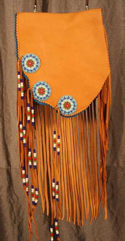 Cliff Hanger Pouch Bag Native American Biker belt pouches