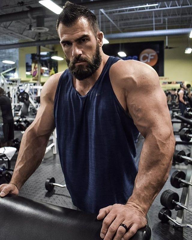 Pin By Larry Cronk On Nick Pulos Beard Good Looking Men Beard Styles