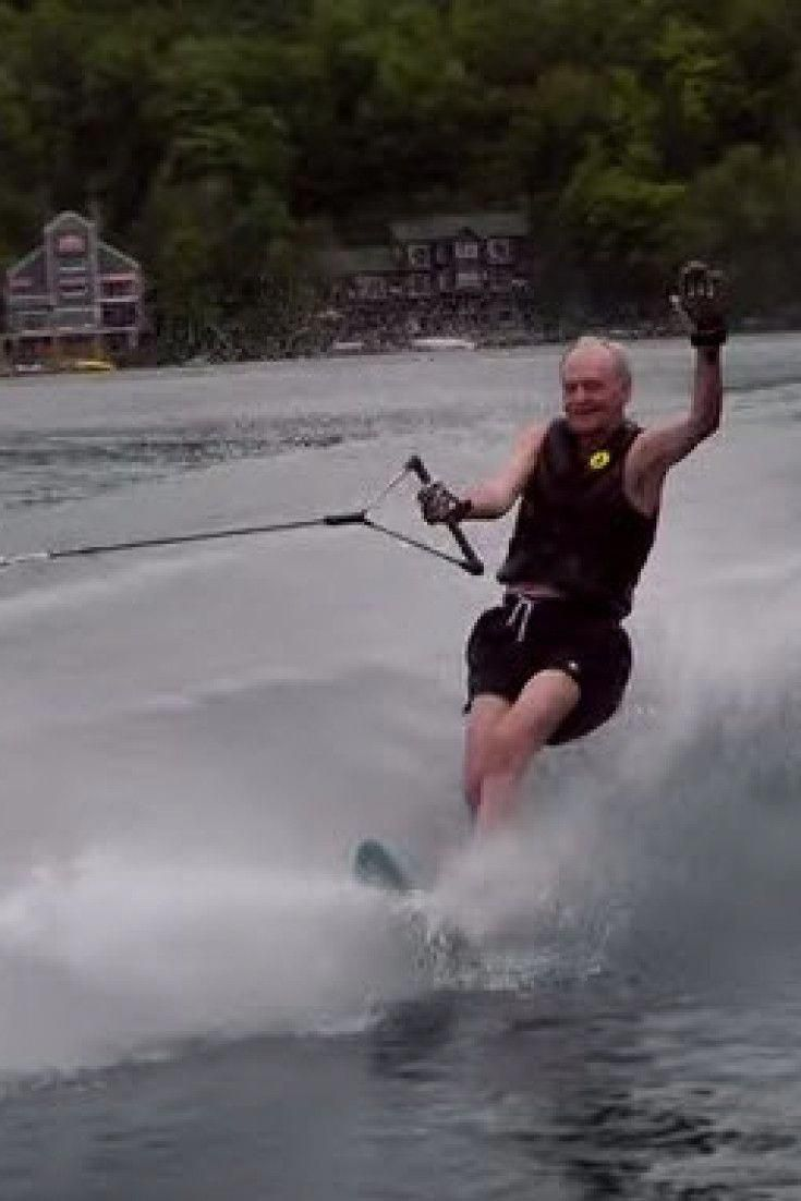 Forget The Election Here S 81 Year Old Jean Chretien Water Skiing On 1 Ski Waterskiing Water Skiing Slalom Water Skiing Skiing