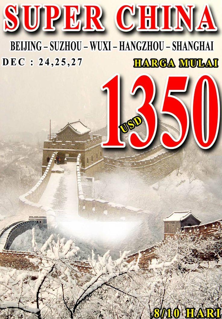 Liburan musim dingin ke china yuk tweeps.  Cek penawaran kami di sini yah! http://txtravel.com/iframe/GA4.html