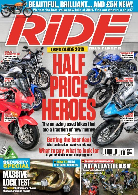 Ride April 2019 Cycling Magazine Riding