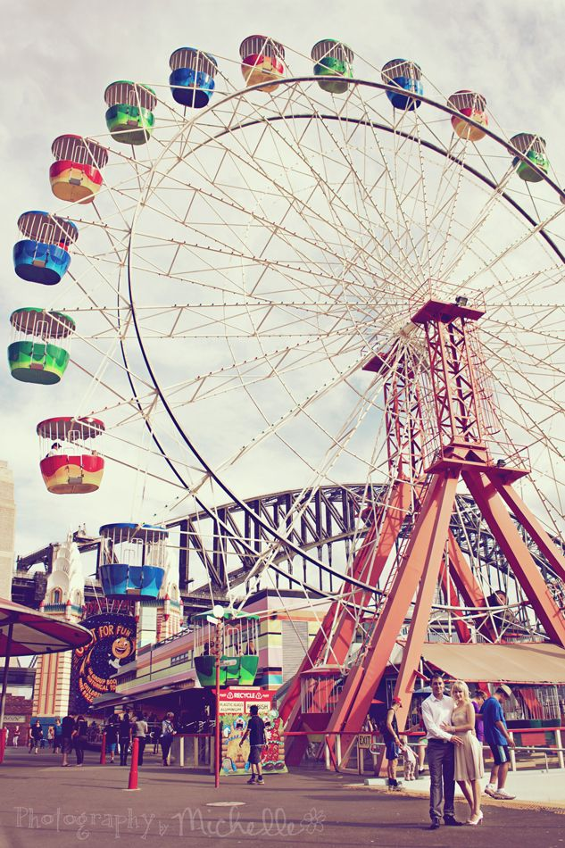 Luna Park was one of my fav things to see in Sydney! This is a cool picture of it!