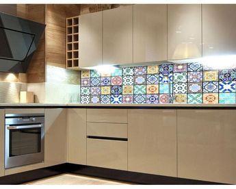 KÜCHENRÜCKWAND   Selbstklebend, Präzise Auflösung Und Einzigartiges Design  Produkt: Küchenrückwand Material: Selbstklebende Laminierte