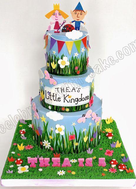 Celebrate with Cake!: Little Kingdom 3 tier