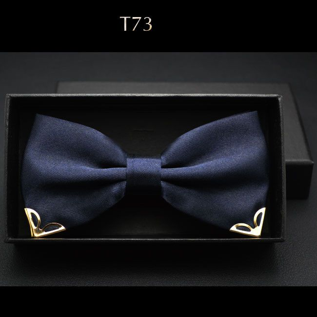 Men's Bow Ties - Suitable for various activities such as business, parties, weddings or other outdoor activities, also a good choice as a gift for friends or family. Item Type: Ties Pattern Type: Soli