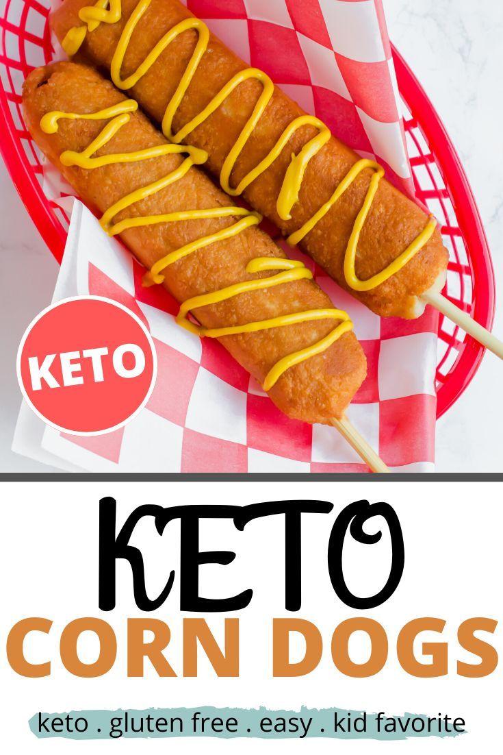 Keto Corn Dogs Recipe Easy keto corn dog recipe that you