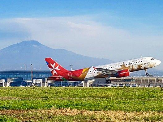 Air Malta kicks off bi-weekly flight service from Catania to Vienna
