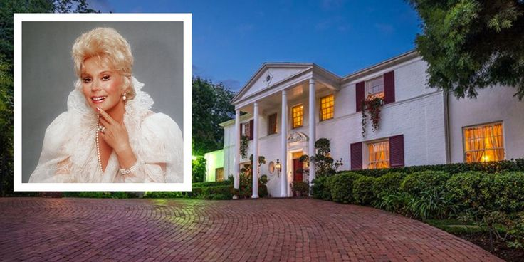 Eva Gabor's Famous Los Angeles Mansion Is On the Market - TownandCountrymag.com
