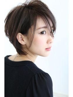 【骨格補正!!】絶対オススメの小顔ショートボブ☆
