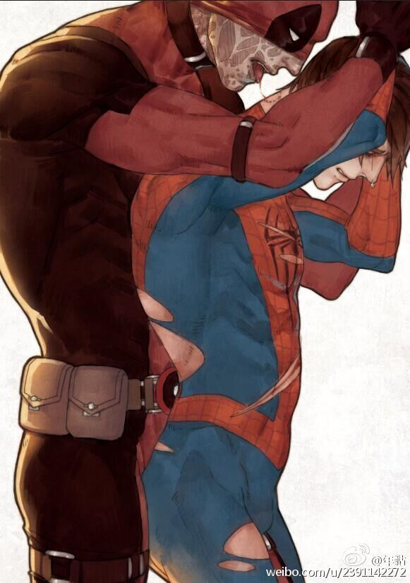 Spideypool is love... Spideypool is life... - Visit to grab an amazing super hero shirt now on sale!