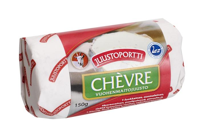 Juustoportin Vuohen Chevre on kotimaisesta vuohenmaidosta valmistettu valkohomejuusto.  Tämä raikkaanmakuinen uutuusjuusto on parhaimmillaan salaateissa, juustotarjottimella sekä lämpimien ruokien koristeluissa ja täytteissä.
