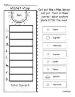 Solar System Theme Unit: Worksheets, Planets, Math Problems, Lesson Plans, Puzzles, and More!