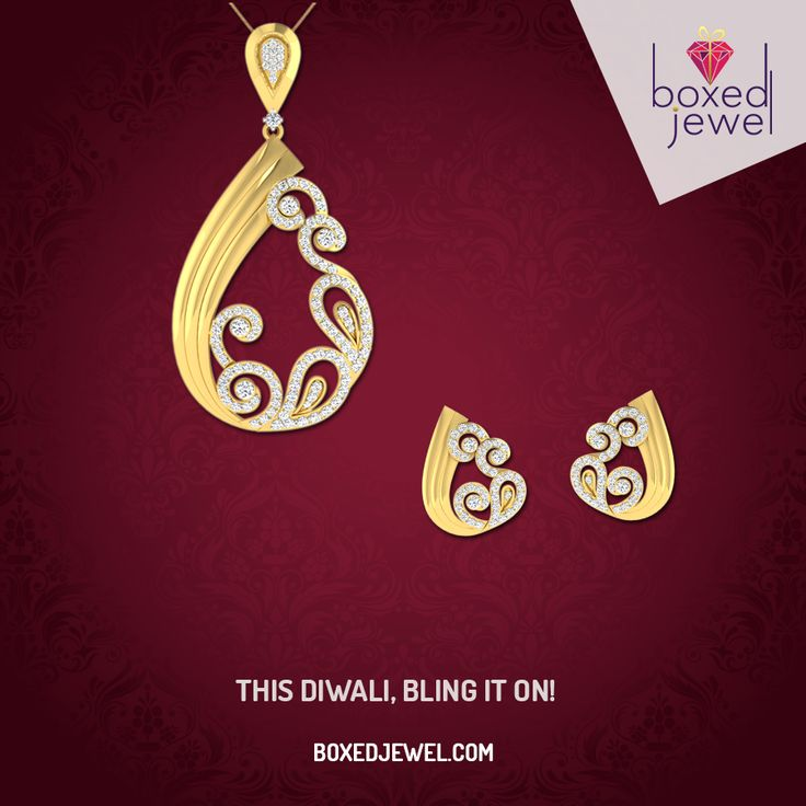 Fuel up your attire with blazing #Pendants and #Earrings. Stay unique with www.boxedjewel.com