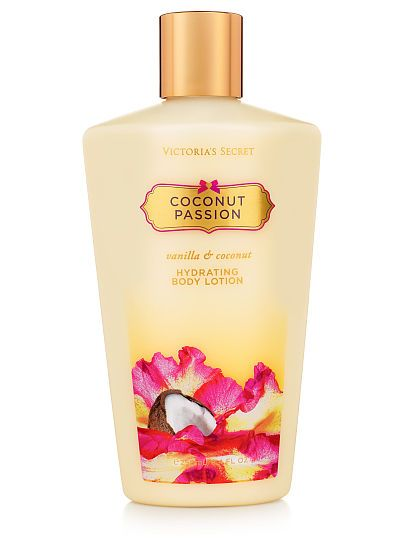 Coconut Passion Hydrating Body Lotion VS Fantasies