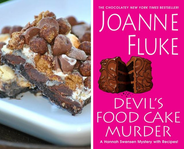 10 Mouthwatering Recipes From Joanne Fluke Murder Mysteries - Chocolate Euphoria Bars