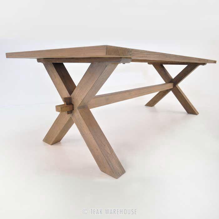 17 Best Images About X Leg Tables On Pinterest