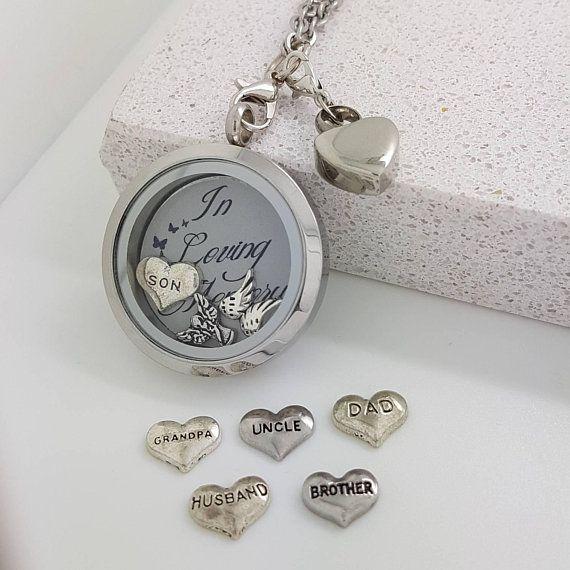 Cremation Jewellery - Ashes Keepsake - Urn Necklace Dad