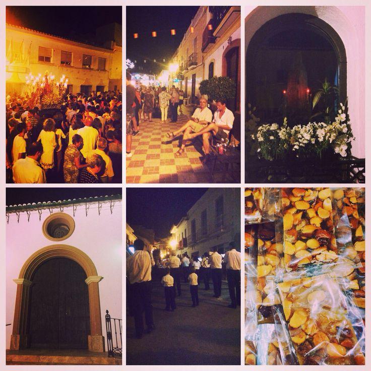 Processie in Pizarra #feria