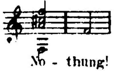 The Nothung ([Name of Siegfried's sword]) Leitmotive from Wagner's Die Walküre.