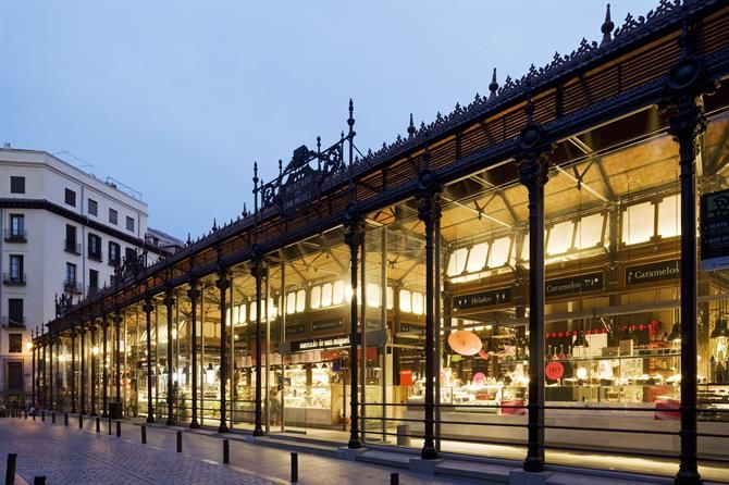 Mercado de San Miguel - Madrid (Espagne)