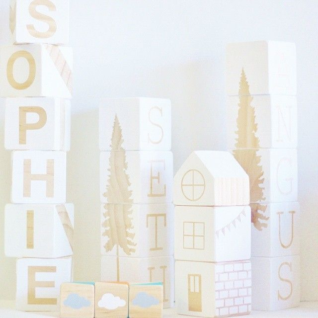 Kids in bed - time to package up these lovelies!  White and wood a beautiful favorite xx