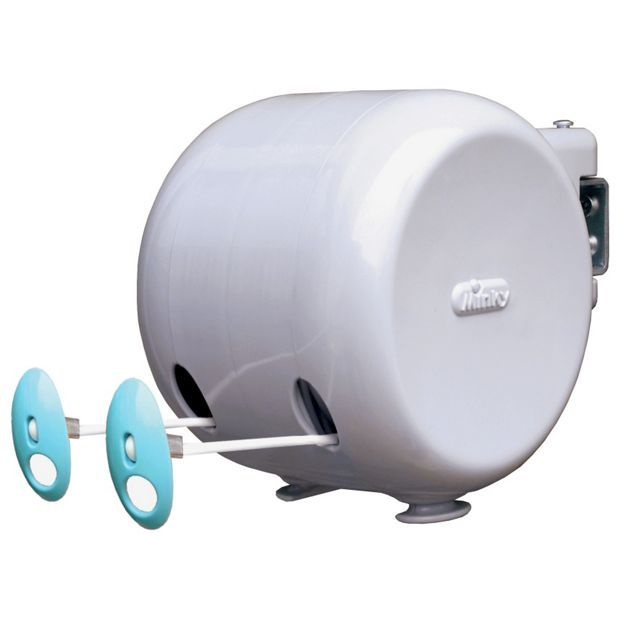 Buy Minky 30m Outdoor Retractable Reel Washing Line at Argos.co.uk - Your Online Shop for Washing lines and airers, Laundry and cleaning, Home and garden.