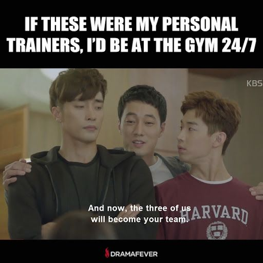 Need some post-Thanksgiving workout inspiration? Check out So Ji Sub, Henry, and Sung Hoon in Oh My Venus!