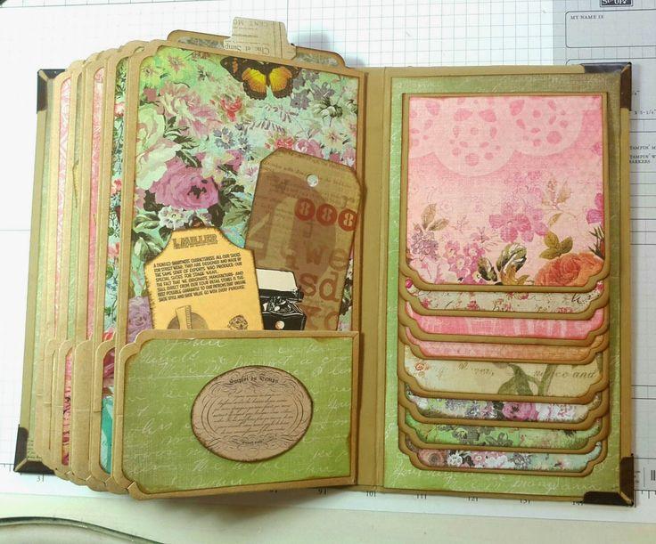 Magnolia's Place: Paper Bag Mini Album