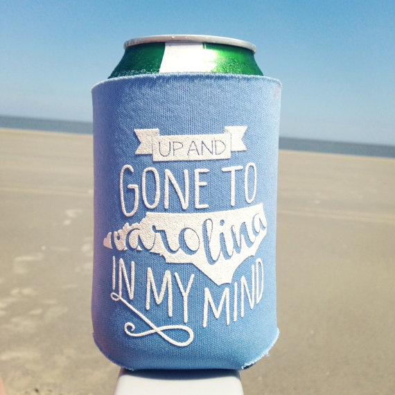 North Carolina Koozie: Gone to Carolina Drink Koozie