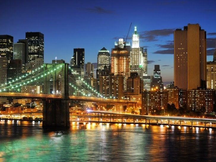new york city HD wallpapers: New York Night Lights ~ celwall.com Cool Wallpapers Inspiration