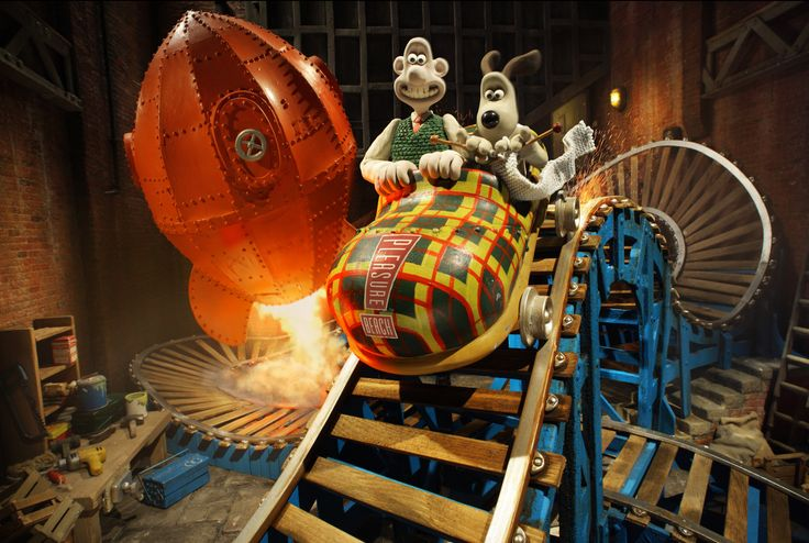 Wallace & Gromit Thrill-O-Matic Ride at Blackpool Pleasure Beach