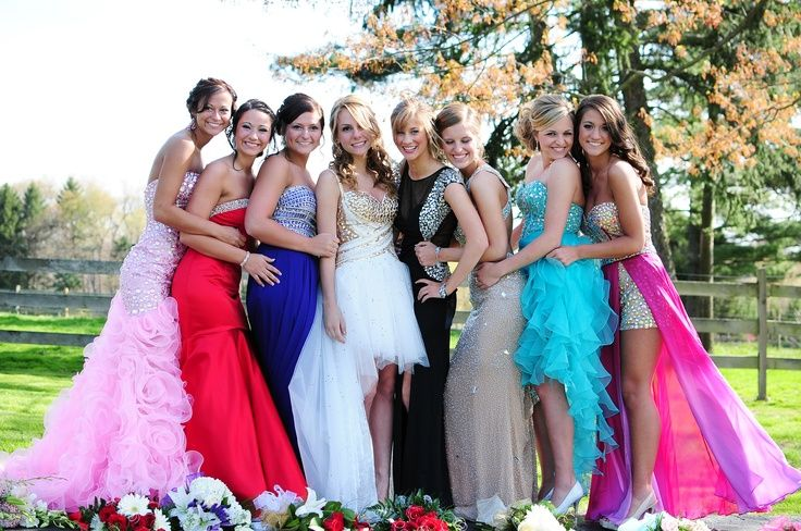 prom picture ideas for group
