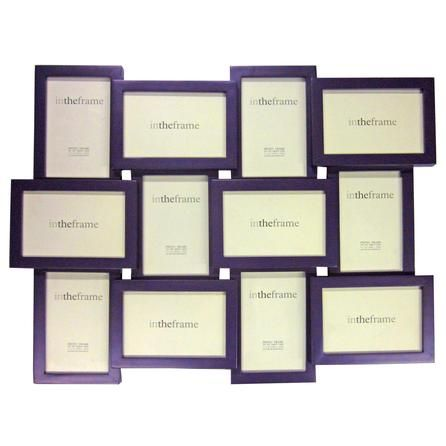 12 Opening Jigsaw Photo Frame  #purple #home #decor #dunelm