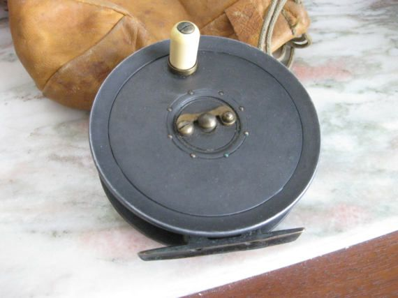 dingley 3 1/2 fly reel marketed For WM Mills and Son