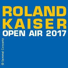 Roland Kaiser - Open Air 2017 // 03.06.2017 - 26.08.2017  // 03.06.2017 20:00 SCHWERIN/Freilichtbühne Schlossgarten // 04.06.2017 20:00 KAMENZ/Hutbergbühne Kamenz // 14.07.2017 20:00 BAD DÜRRHEIM/Rathausplatz Bad Dürrheim // 22.07.2017 20:00 SPREMBERG/Freilichtbühne Spremberg // 29.07.2017 20:00 CHEMNITZ/Kaiser-Arena am Hartmannplatz // 04.08.2017 20:00 DRESDEN/Filmnächte am Elbufer // 05.08.2017 20:00 DRESDEN/Filmnächte am Elbufer // 11.08.2017 20:00 DRESDEN/Filmnächte am Elbufer…