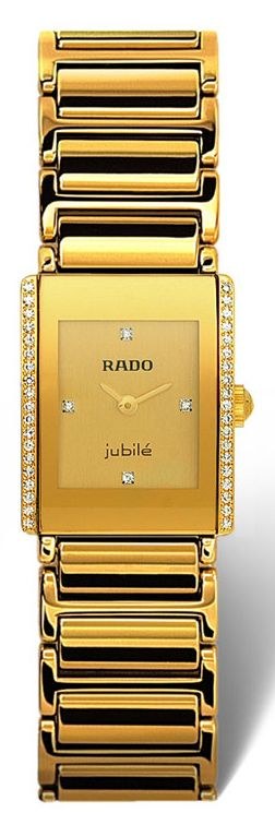 $1,700 #Rado Integral Jubile #Gold Ladies Watch