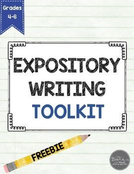 how to teach expository writing