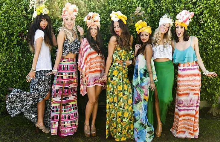 Native Culture Bright Textiles Maxi Cropped Summer