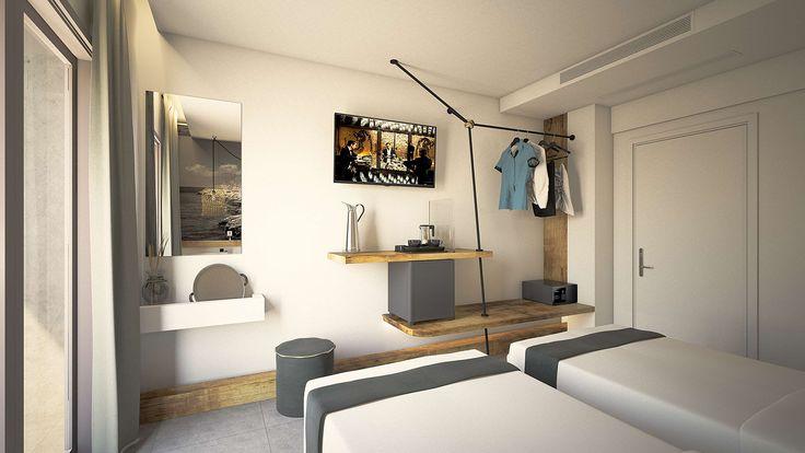 Milos Junior Suite - Bedroom, Elakati Luxury Boutique Hotel, Rhodes , Greece