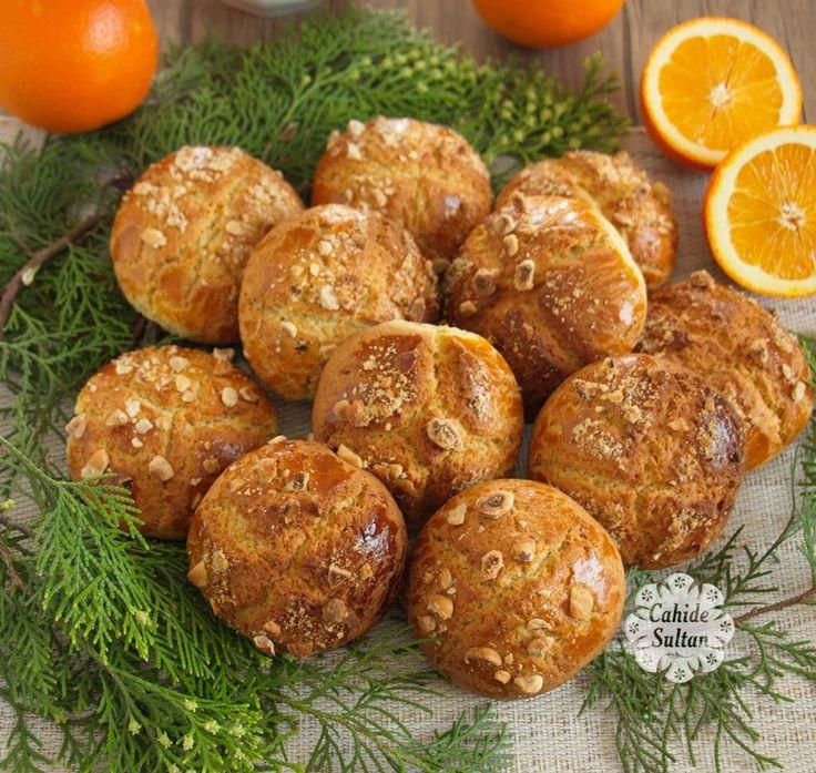 Pastanelerde gördüğünüz kocaman portakallı kurabiyelerin aynısı olan bu tarifimizi mutlaka denemenizi tavsiye ediyorum.