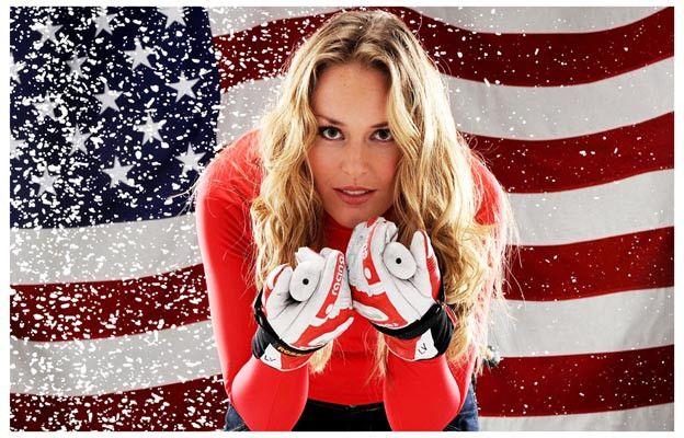 Lindsey Vonn US Olympic Ski Team 2010 Gold Medal Winner Poster 11x17