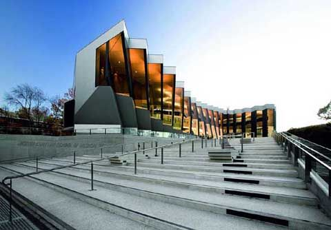 John Curtin School of Medical Research (Australian National University) designed by Lyons.