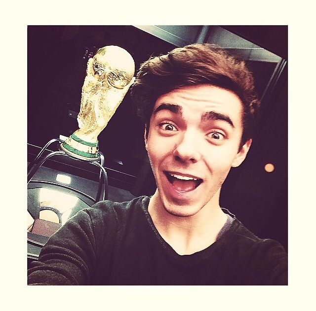 Nathan Sykes Instagram 2014