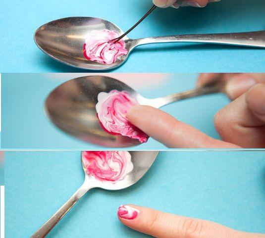 DIY – The Easiest Nail Art