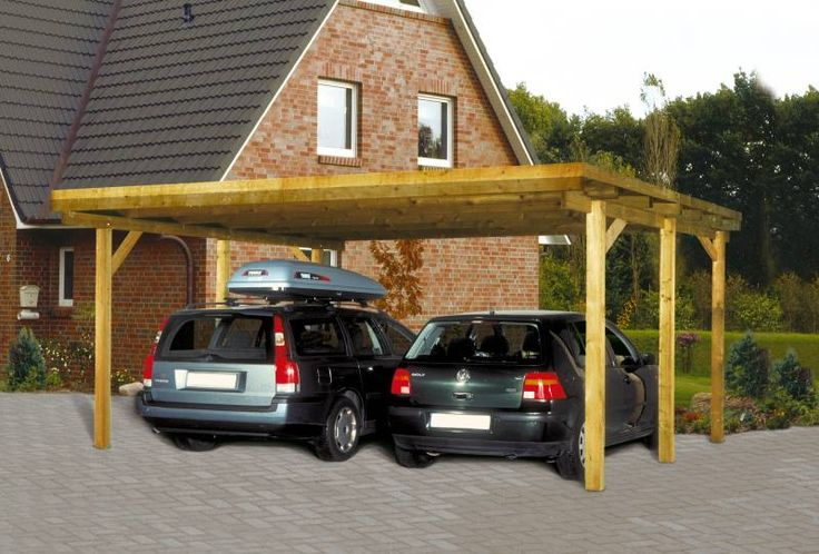 Wood carports designs build the best for your car for Wooden garage plans