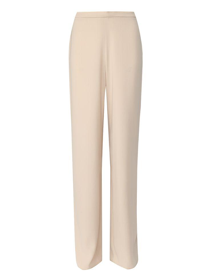 Купить со скидкой Max Mara бежевые брюки свободные кроя (146744) – распродажа в Боско Аутлет