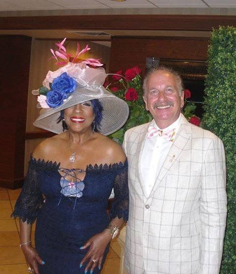 5/5/2017 Mary Wilson made it to the Kentucky Derby again! :-)