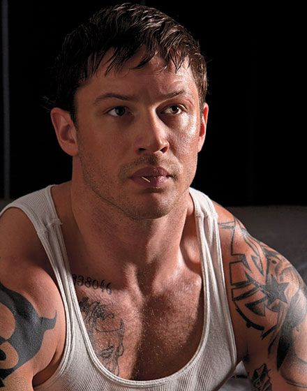 Tom Hardy in Warrior... great movie that was way underrated! Should have been more recognized!