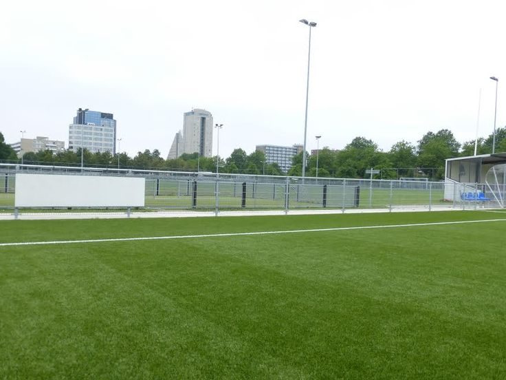 Montage reclamebord ophangsysteem in Voorburg Forum Sport