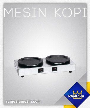Tea Warmer 2 Plate Stove, Harga Rp 500.000 untuk info lengkap silahkan kunjungi website kami http://ramesiamesin.com/mesin-kopi/